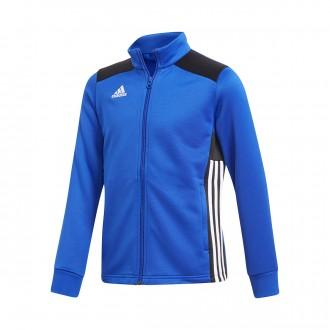 Casaco  adidas Regista 18 Polyester Niño Bold blue-Black