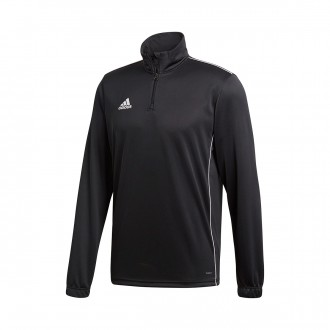 Sudadera  adidas Core 18 Training Black-White