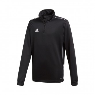 Sweatshirt  adidas Core 18 Training Niño Black-White
