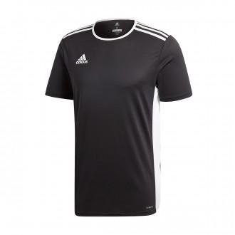 Jersey  adidas Entrada 18 m/c Black-White