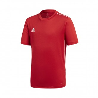 Jersey  adidas Kids Core 18  Power red-White