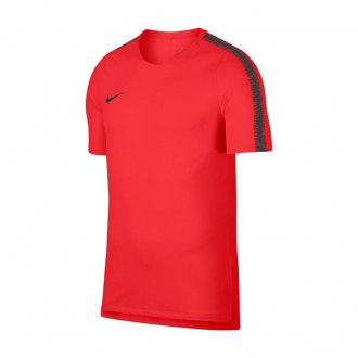 Camisola  Nike Breathe Squad Light crimson-Anthracite