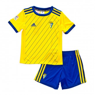 Kit  adidas Kids Cadiz CF 2018-2019 Home Yellow-Blue