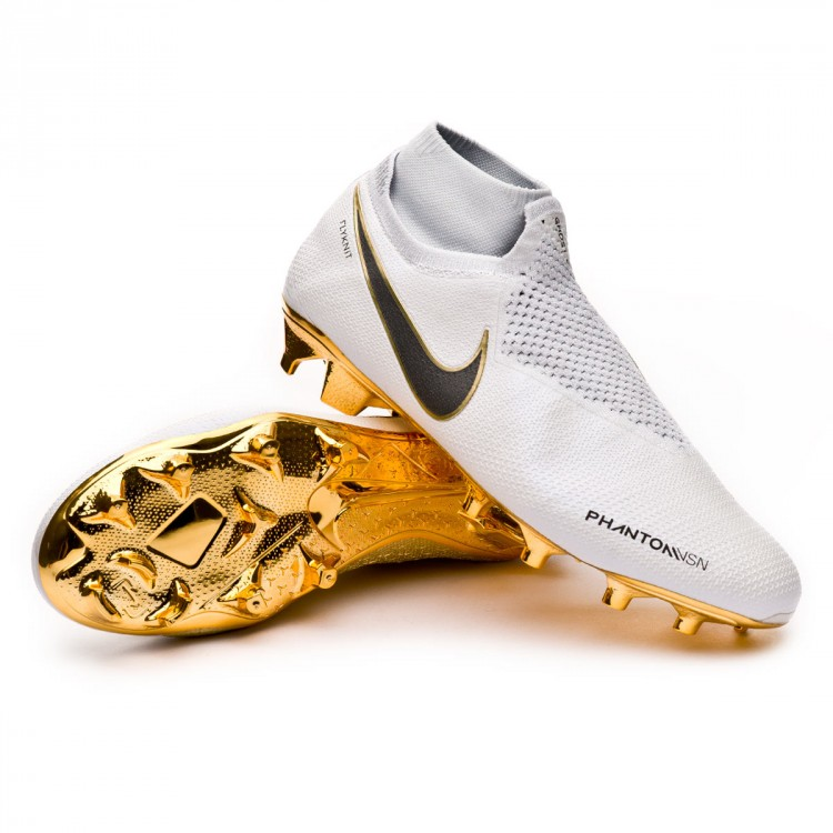 9213a016122c5 Boot Nike Phantom Vision Elite DF FG Limited Edition White-Metallic ...
