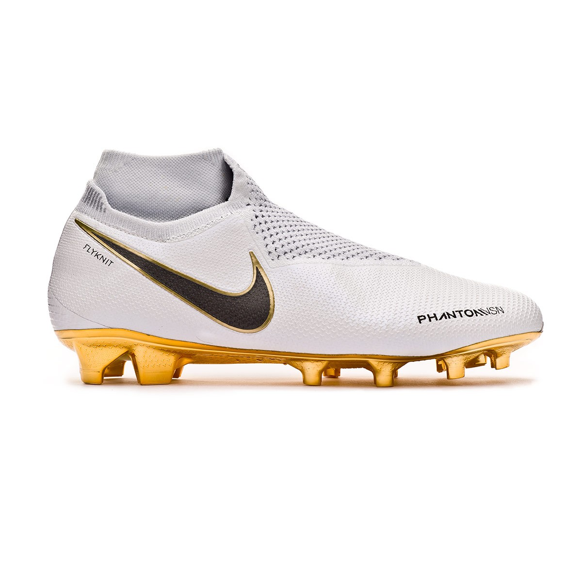 c3415163c8f Football Boots Nike Phantom Vision Elite DF FG Limited Edition  White-Metallic gold - Tienda de fútbol Fútbol Emotion