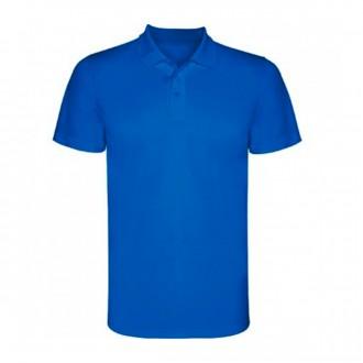 Polo shirt  Roly Monzha Technical Royal