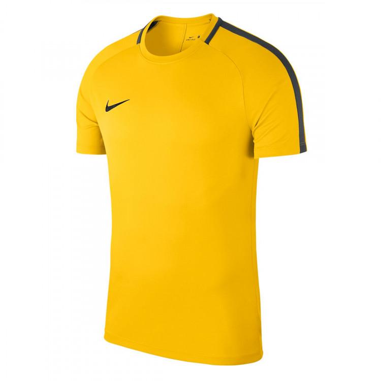 Camiseta Nike Dry Academy 18 Niño Tour yellow-Anthracite-Black ... 605b82219afbd