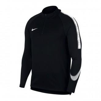 Sudadera  Nike Dry Squad Black-White