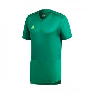 Camiseta  adidas Condivo 18 Training m/c Bold green-Solar green