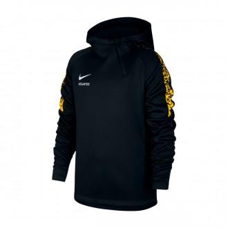 Sudadera  Nike Therma Neymar Academy Niño Black-Yellow-White