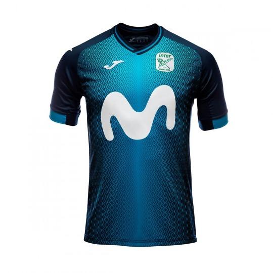 Camiseta Joma Movistar Inter FS Primera Equipación 2018-2019 Azul -  Soloporteros es ahora Fútbol Emotion fe490ac5d2753