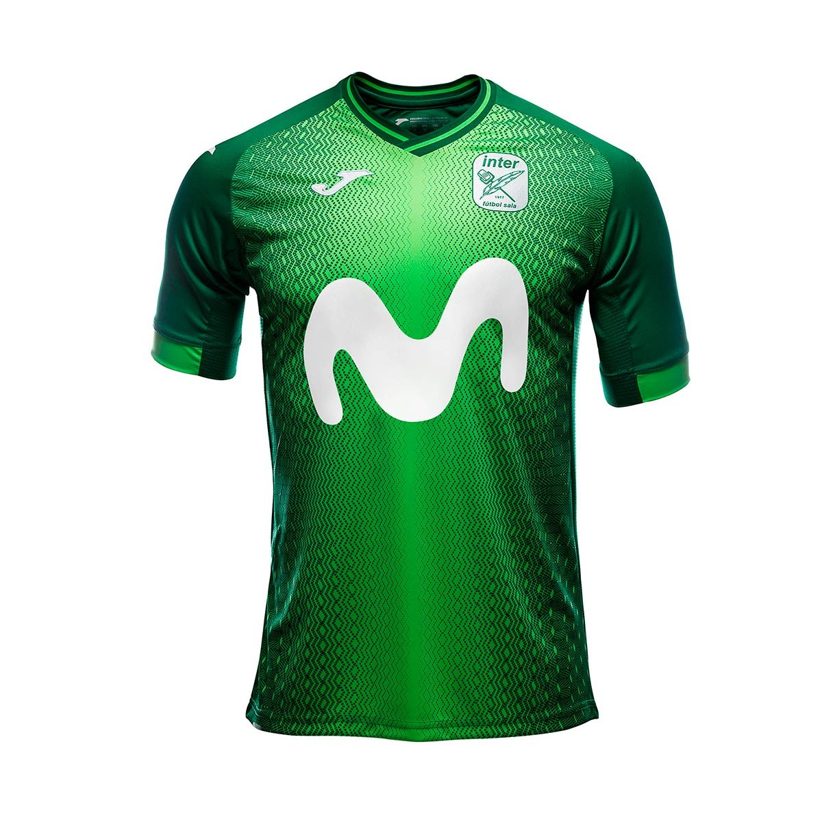 590a26f6e08 Jersey Joma Movistar Inter FS2018-2019 Away Green - Football store ...