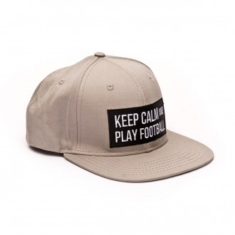 Gorra  SP Fútbol Keep Calm Gris