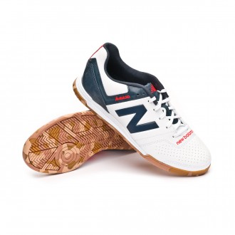Futsal Boot  New Balance Kids Audazo Strike 3.0 Futsal  White grey