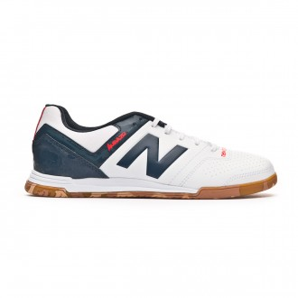 Scarpe  New Balance Audazo Strike 3.0 Futsal Junior White grey