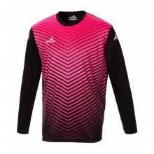 Camiseta Arsenal M/L Negro-Fucsia