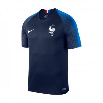 Maillot Nike France Championne du Monde 2018 Obsidian-Hyper Cobalt-White