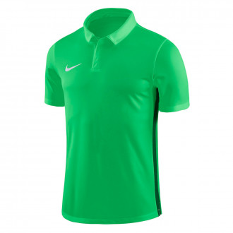 Polo  Nike Dry Academy 18 Light green spark-Pine green-White