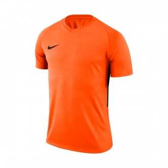 Camiseta  Nike Tiempo Premier Safety orange-Black