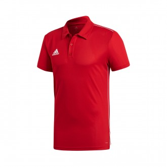 Polo shirt  adidas Core 18 Power Red