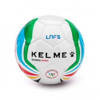 Balón  Kelme Olimpo Spirit Oficial LNFS 2018-2019 Blanco