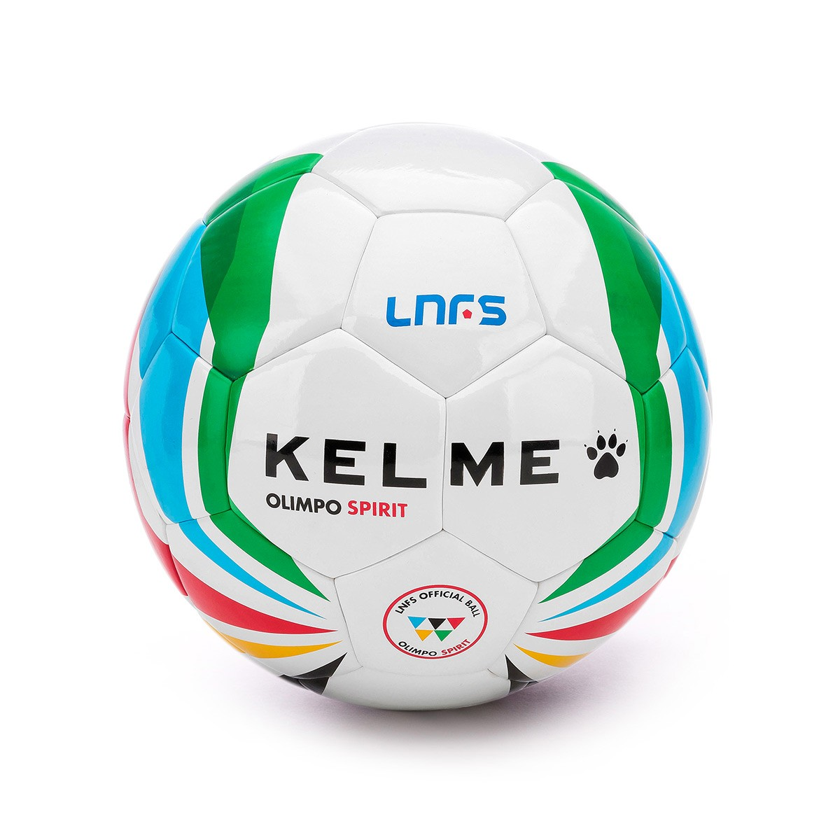 Ball Kelme Olimpo Spirit Oficial LNFS 2018-2019 White - Football ... 3d399ee32317c