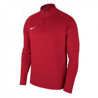 Sudadera  Nike Academy 18 Drill University red-Gym red-White