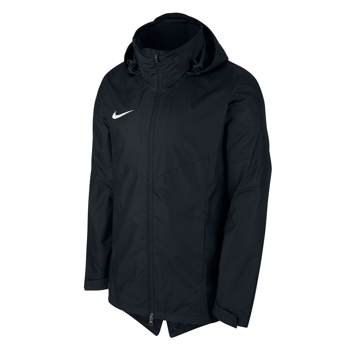 Puntero batalla desvanecerse  Raincoat Nike Academy 18 Black-White - Football store Fútbol Emotion
