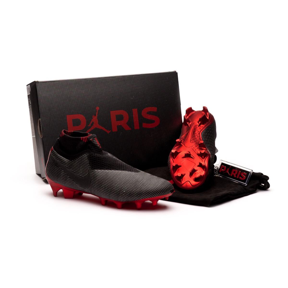 Boot Nike Phantom Vision Elite DF SE Jordan x PSG FG Black ... df6adfb17