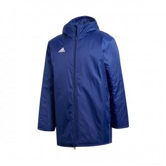 Abrigo  adidas Core 18 Stadium Dark blue-White