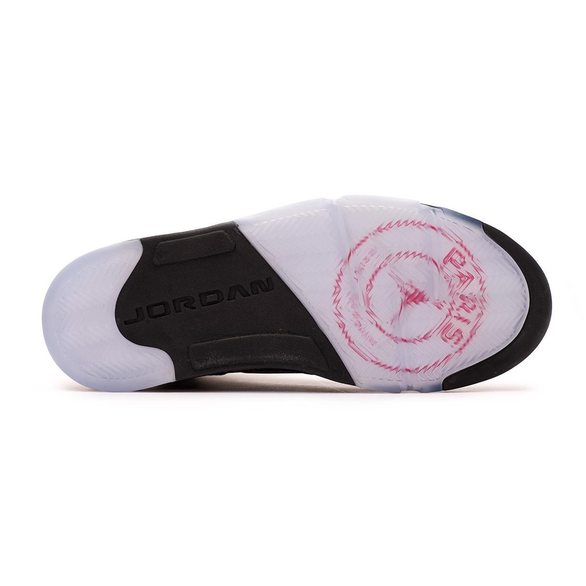 e04dd09bef0c Trainers Nike Air Jordan 5 Retro Jordan x PSG Black-Challenge red-White -  Football store Fútbol Emotion
