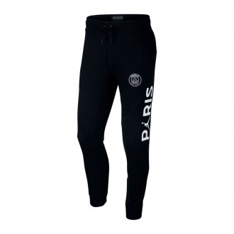 Tracksuit bottoms  Nike Jordan x PSG Wings FZ Black-White