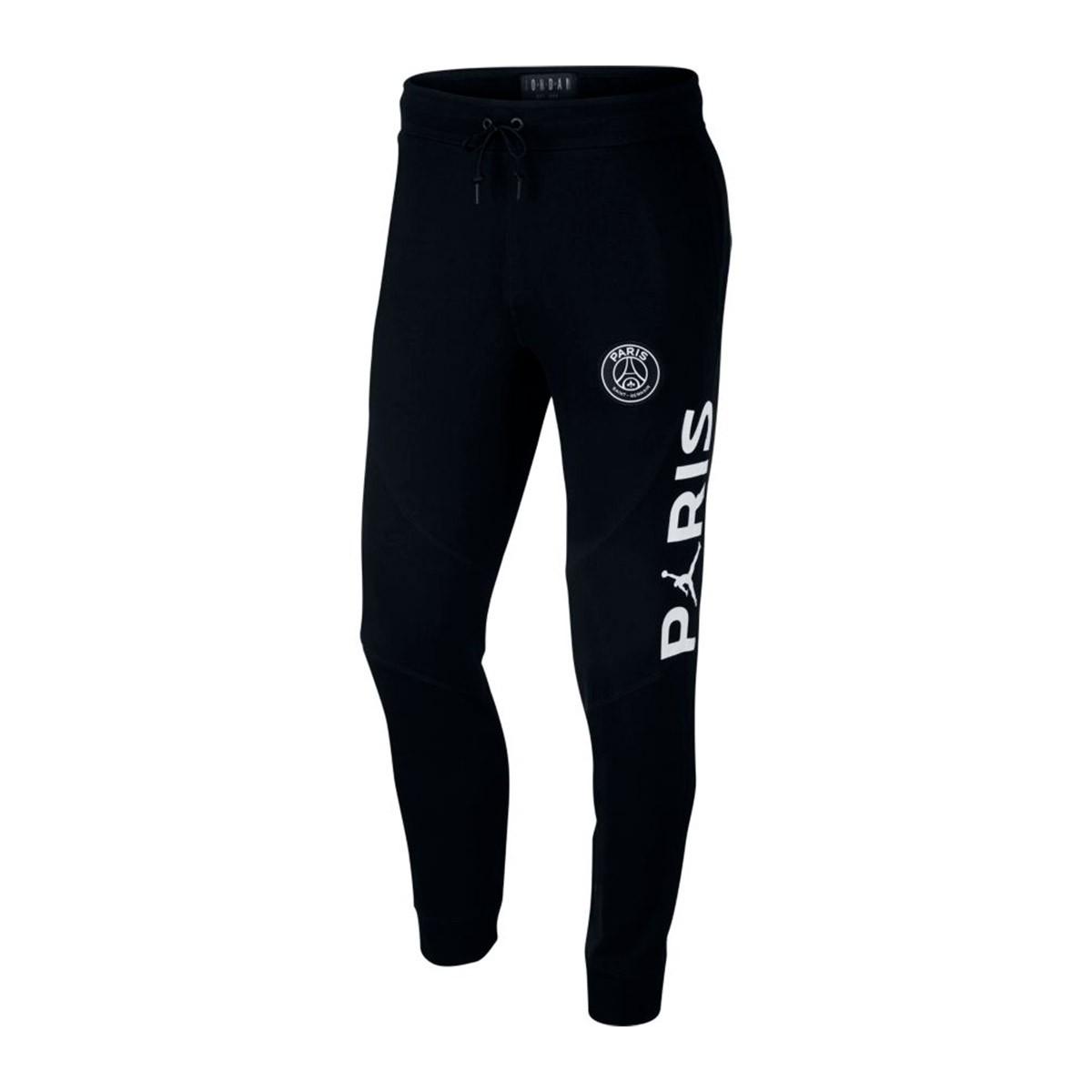 7c9e580f55e Long pants Nike Jordan x PSG Wings FZ Black-White - Football store ...