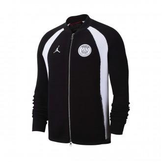 Casaco  Nike Jordan x PSG Flight Knit Black-White