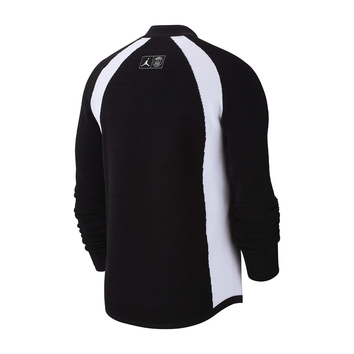 5fdec2b57e9c Jacket Nike Jordan x PSG Flight Knit Black-White - Football store Fútbol  Emotion