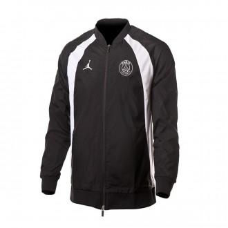 Jacket  Nike Jordan x PSG AJ1 Black-White