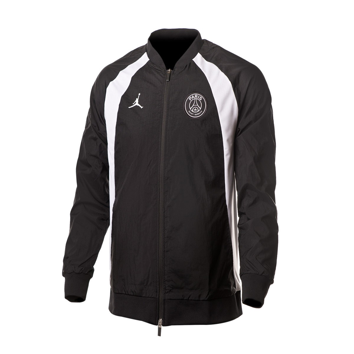 super popular 7c6f7 6bb0c Nike Jordan x PSG AJ1 Jacket. Black-White ...