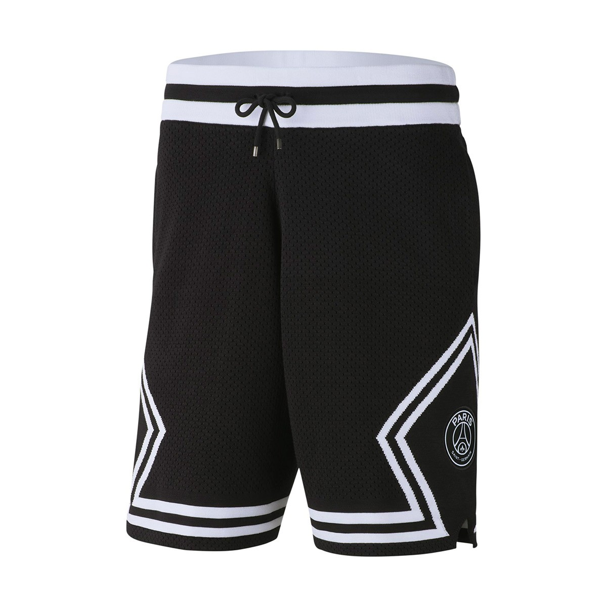 498225c0bf9 Calções Nike Jordan x PSG Diamond Black-White - Loja de futebol ...