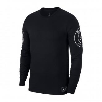 Camiseta  Nike Jordan x PSG STMT Black-White