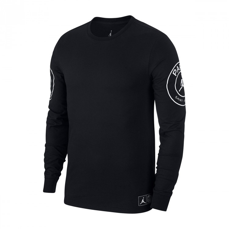 4078a475027 Jersey Nike Jordan x PSG STMT Black-White - Tienda de fútbol Fútbol ...