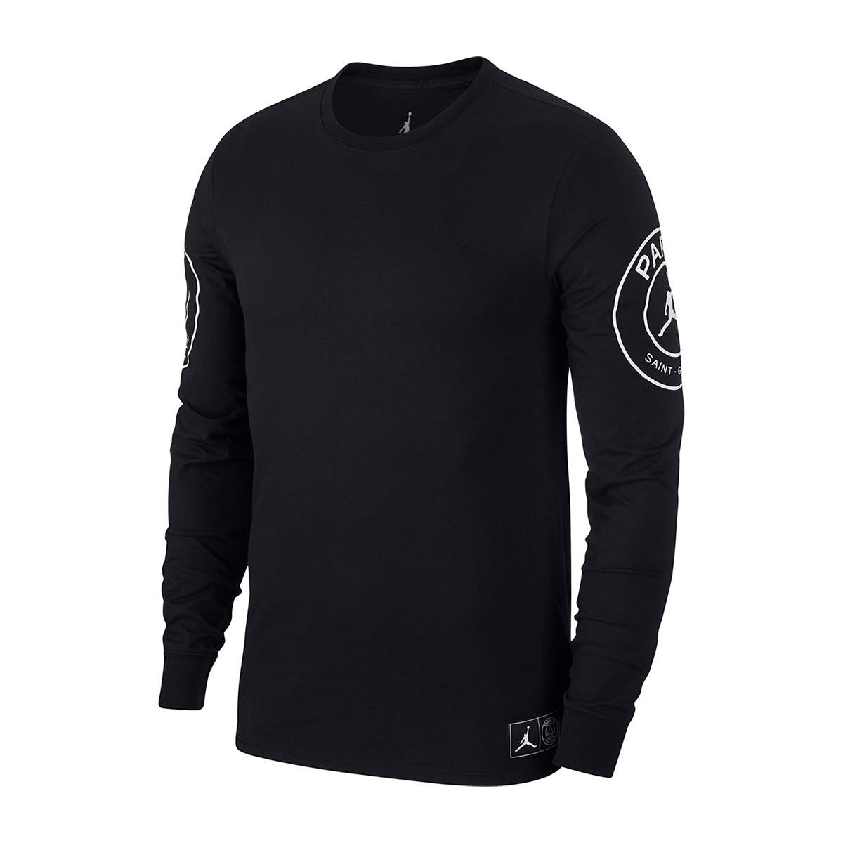 f15ebc494 Camiseta Nike Jordan x PSG STMT Black-White - Tienda de fútbol Fútbol  Emotion