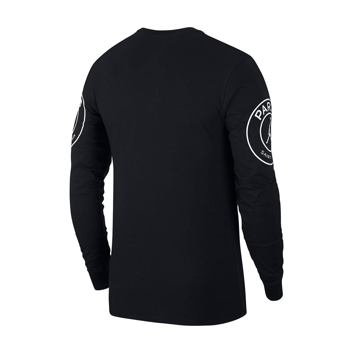 best service ee5bb b9a7e Camiseta Jordan x PSG STMT Black-White