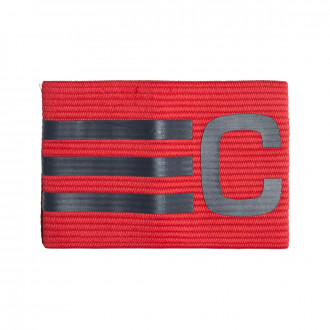 Captain's Armband adidas Adjustable Scarlet-Dark grey