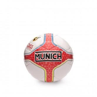 Ball  Munich CNFS RFEF Sala 2018-2019 White-Red