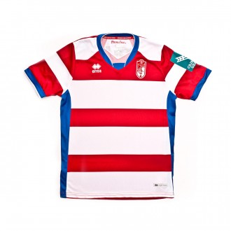 Jersey  Errea Kids Granada CF 2018-2019 Home White-Red