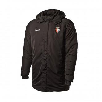 Coat  Hummel CA Osasuna 2018-2019 Black
