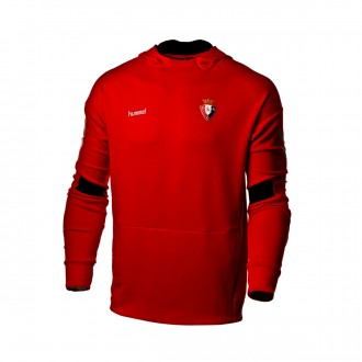 Sudadera  Hummel CA Osasuna 2018-2019 True red