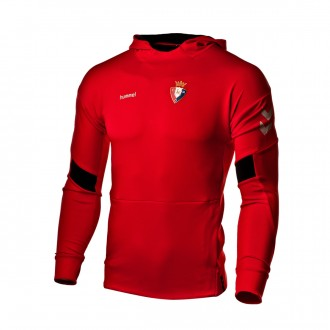 Sweatshirt  Hummel CA Osasuna 2018-2019 Niño True red