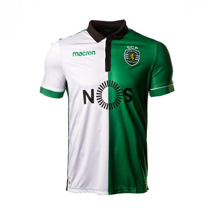 Camiseta macron sporting lisboa stromp equipaci n 2018 2019 white green soloporteros es ahora - Comprar ropa en portugal ...