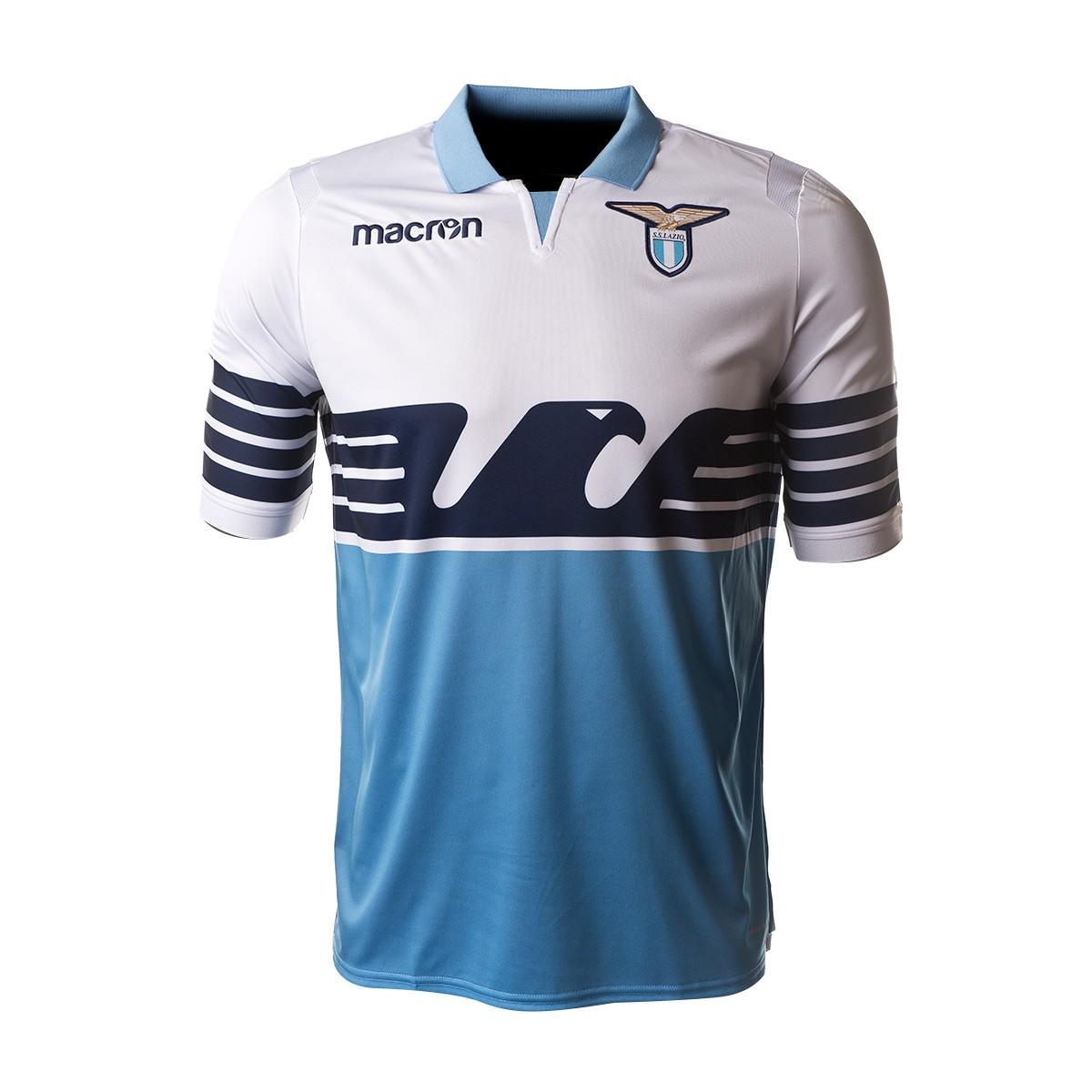... Camiseta Lazio Primera Equipación 2018-2019 White-Light blue. CATEGORIA bb3d908e3a94a